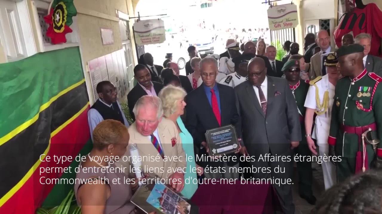 Le prince Charles et Camilla en voyage dans les Caraïbes